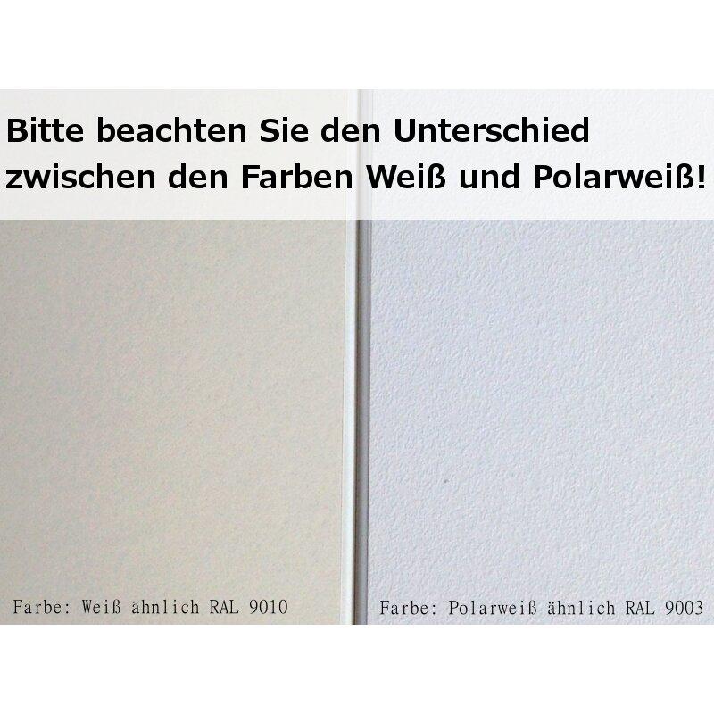 Werzalit Innenfensterbank Fensterbank Exclusiv Polarweiß Perlstruktur