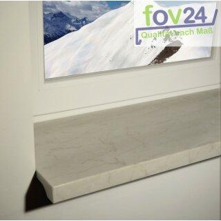 werzalit fensterbank exclusiv marmor bianco glatt 6 00 top markenprodukte. Black Bedroom Furniture Sets. Home Design Ideas