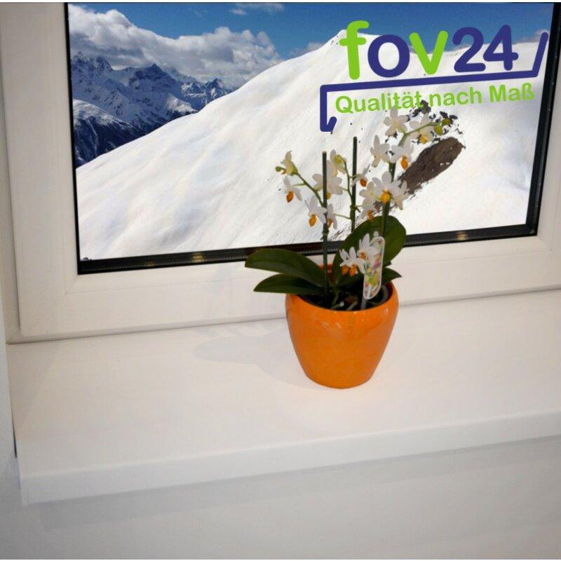 Kunststoff Fensterbank Weiß PVC inkl. Endkappen, 6,94 € - fov24.de ...